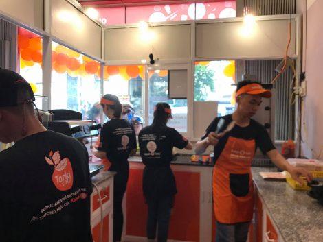 Áo thun đồng phục nhân viên thương hiệu Torki Cafe 1