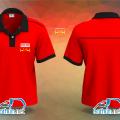 Áo thun đỏ đồng phục nhân viên Công Ty Môi Trường Bảo Anh ở Quận Gò Vấp