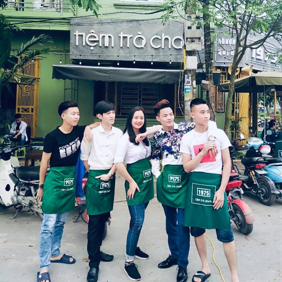 Tạp dề đeo eo Tiệm Trà Chanh 1975 - 1