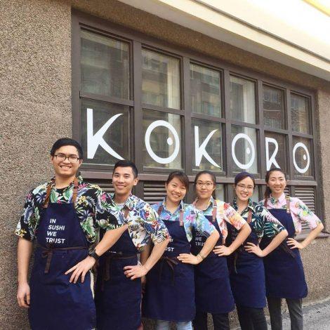 Tạp dề đồng phục nhân viên Nhà Hàng Kokoro Sushi tại Phần Lan 3