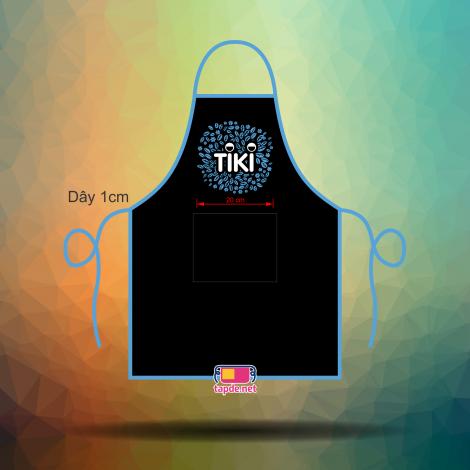 Tạp dề đồng phục nhân viên Tiki