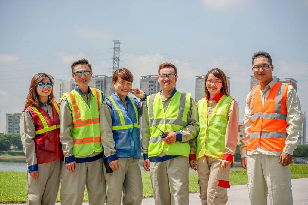 đồng phục bảo hộ lao động - áo ghi lê bảo hộ lao động - 4