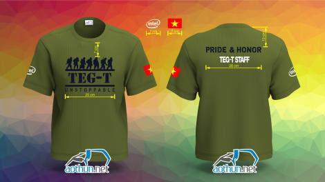 Áo thun đồng phục Teg-T Staff ở Quận 2