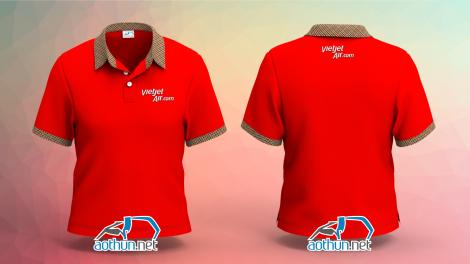 Đồng phục áo thun Vietjet Air