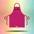 Tạp dề đeo cổ dây cài nút - Nhi Phuc Make Up Store