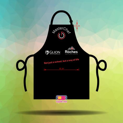 Tạp dề đồng phục Master Chef