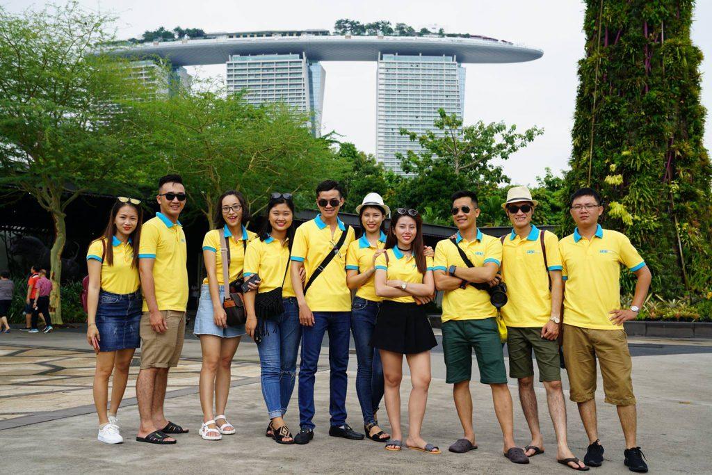 Ảnh áo thun đồng phục Công Ty Cổ Phần Tập Đoàn PGT ở Đà Nẵng