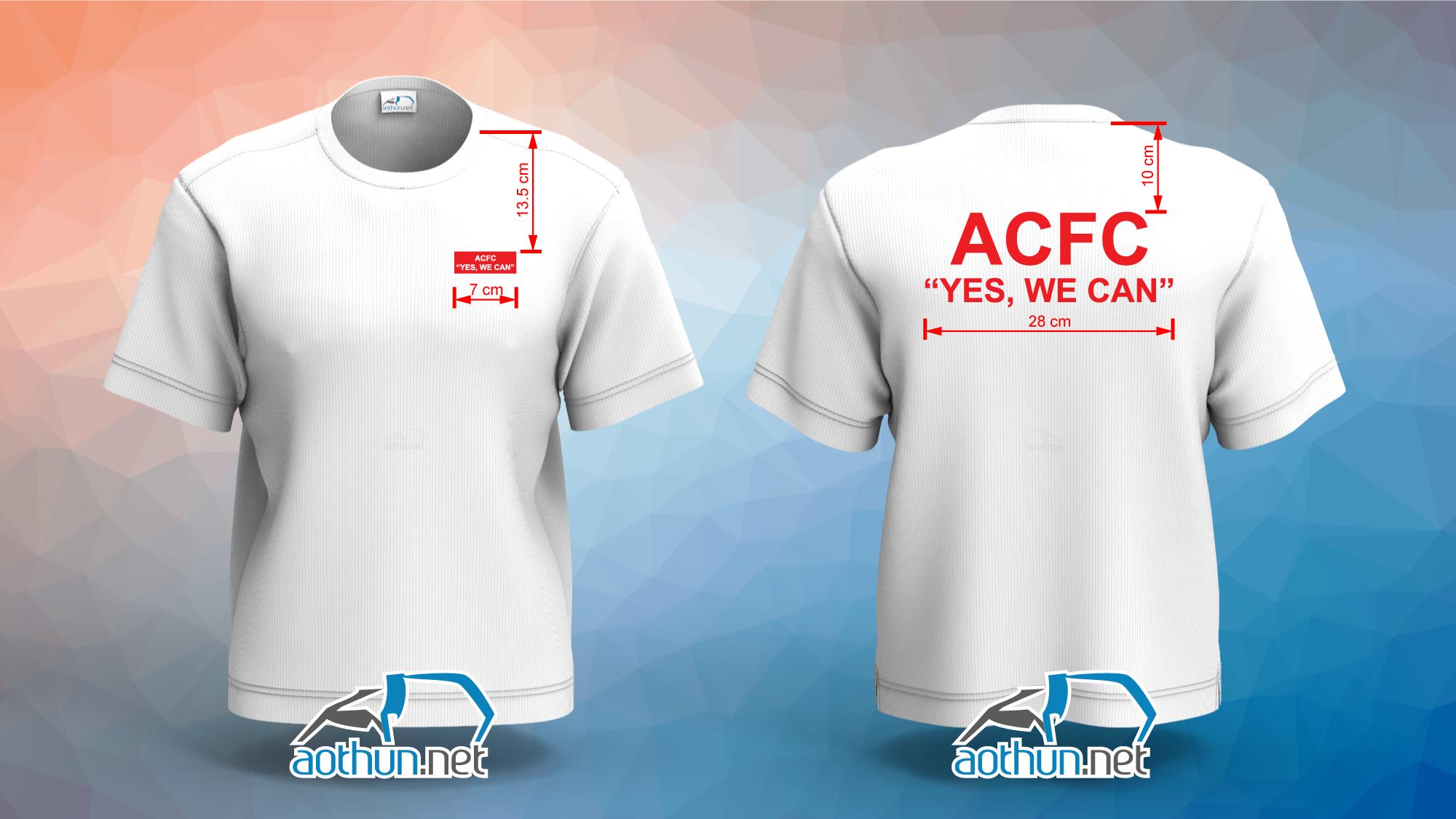 Áo thun đồng phục ACFC