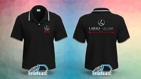 Áo thun đồng phục chuỗi cửa hàng nội y Ladali Laluna ở Tphcm