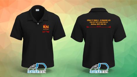 Áo thun đồng phục công ty đèn led K-N