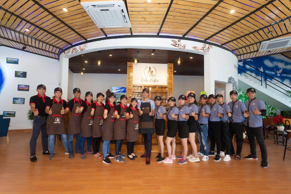 Áo thun đồng phục Like Coffee Phú Quốc 2