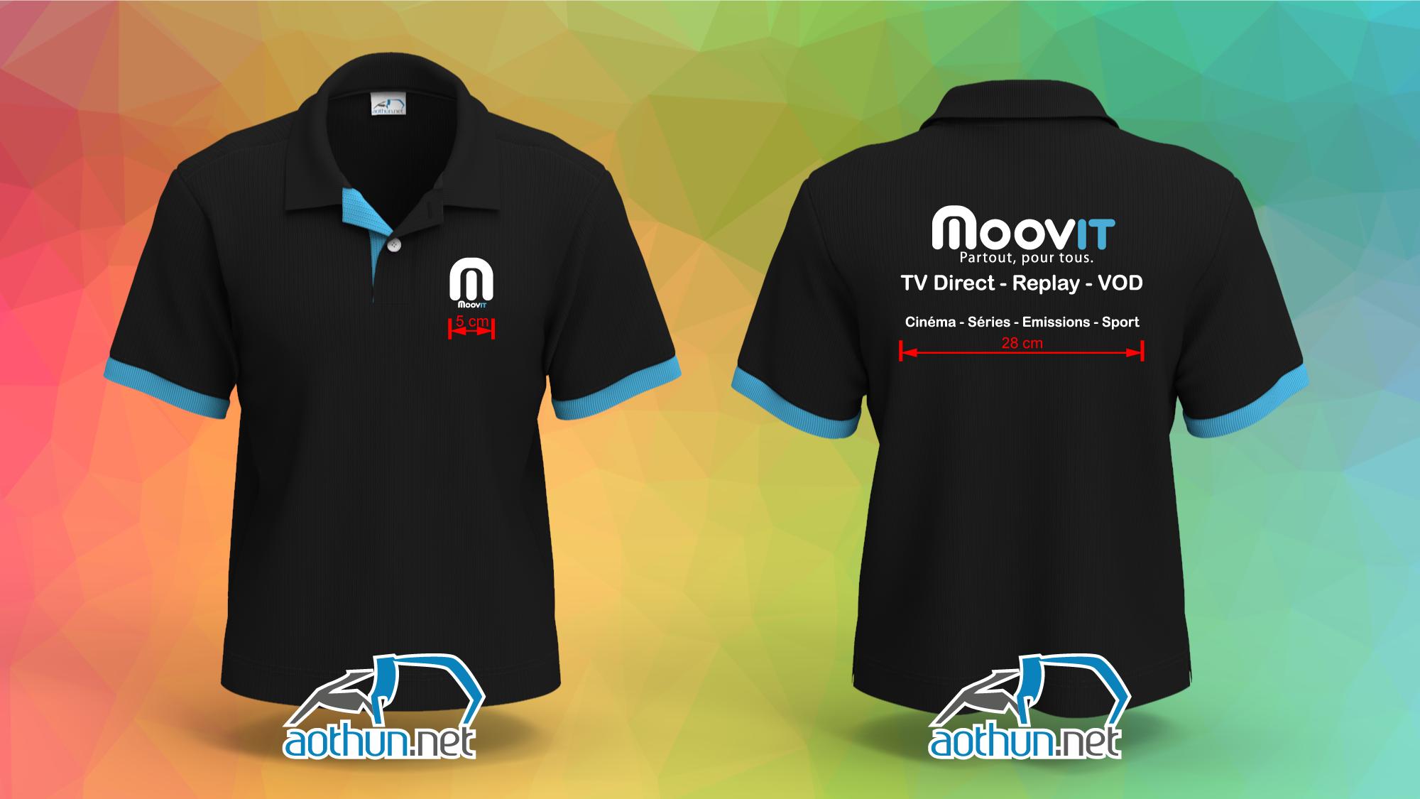 Áo thun đồng phục Moovit