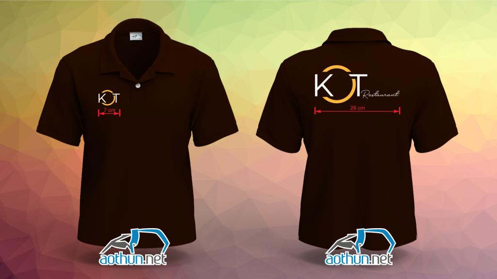 Áo thun đồng phục nhà hàng KOT ở Quận 10