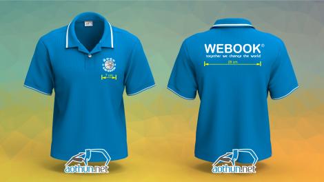 Áo thun đồng phục Webook