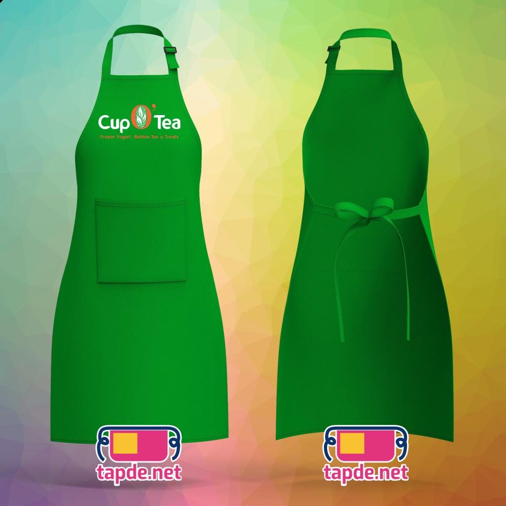 Tạp dề đồng phục Cup O Tea