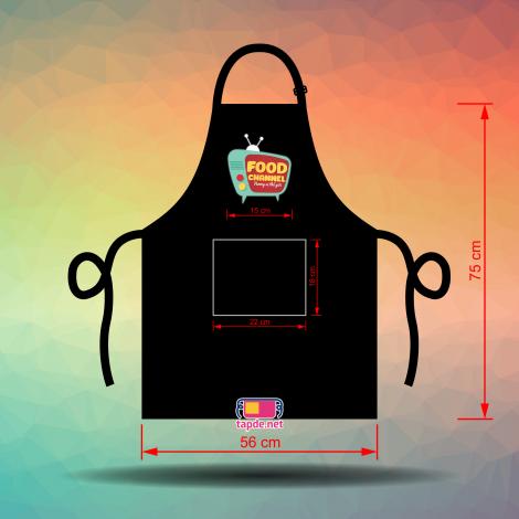 Tạp dề đồng phục Food Channel