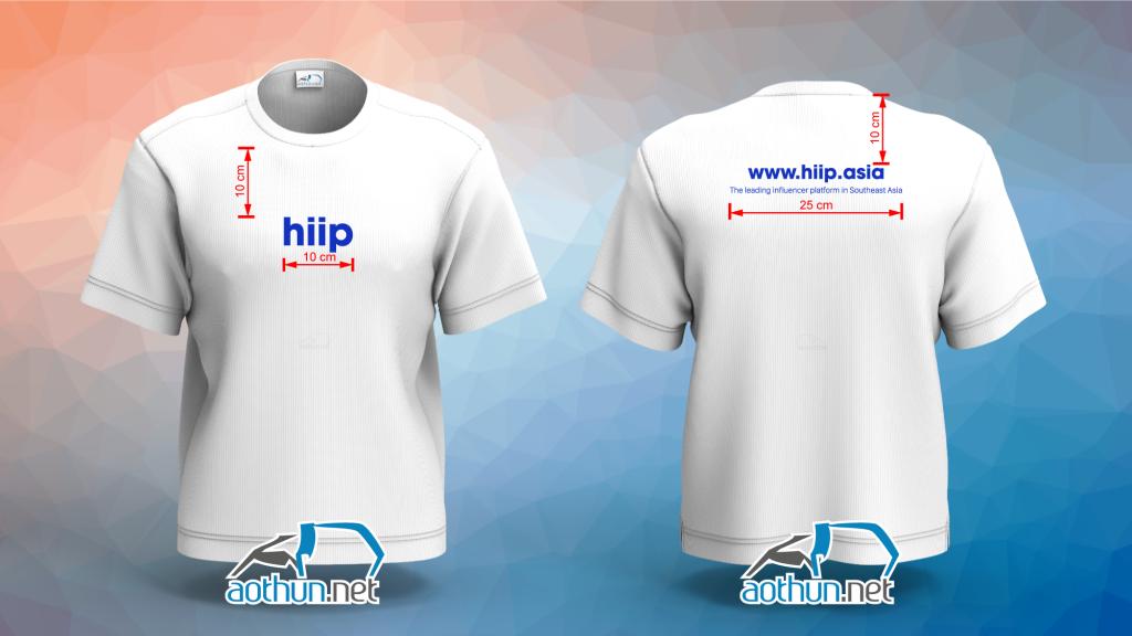 Áo thun đồng phục Hiip Asia