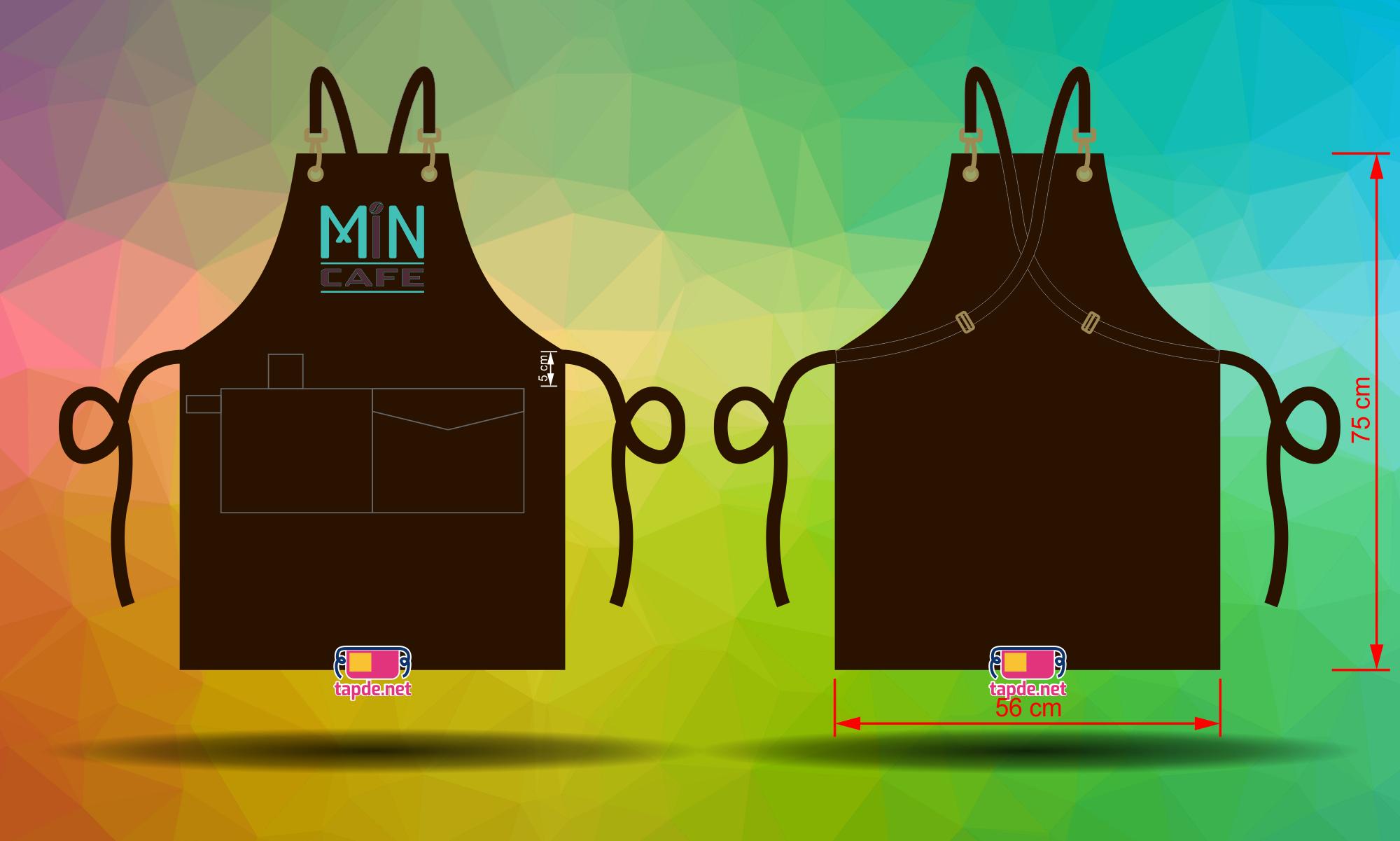 Tạp dề đồng phục Min Cafe