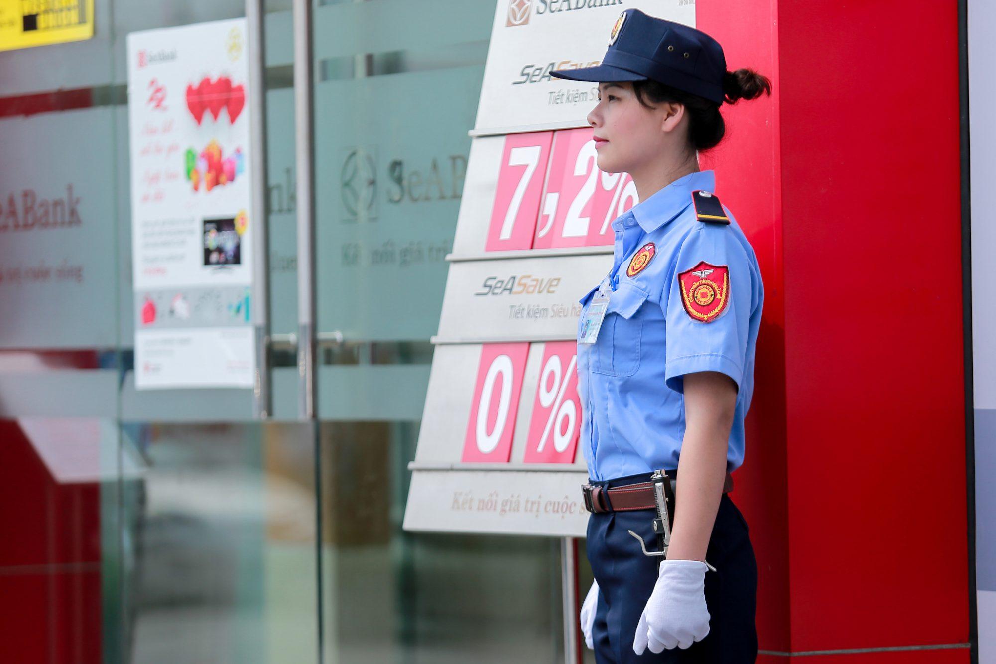 may đồng phục bảo vệ, nhân viên an ninh rẻ, đẹp, chất lượng, giao hàng toàn quốc - 12