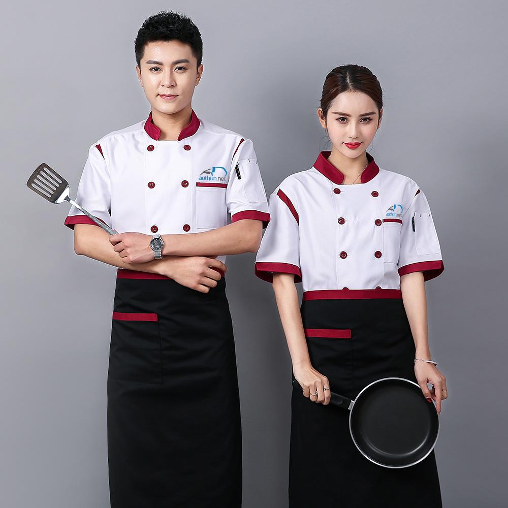 May đồng phục bếp nhà hàng uy tín