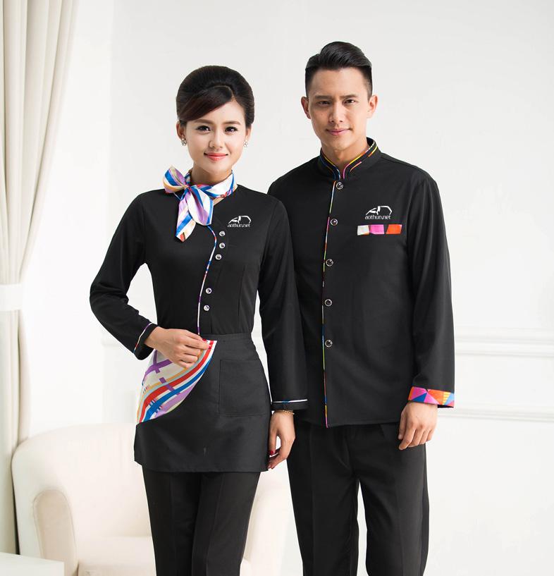 May đồng phục nhà hàng, khách sạn
