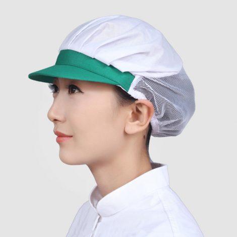 Mũ lưới trùm tóc cho công nhân thủy hải sản