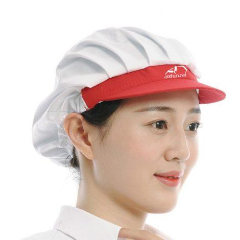Nón đầu bếp có vành mềm