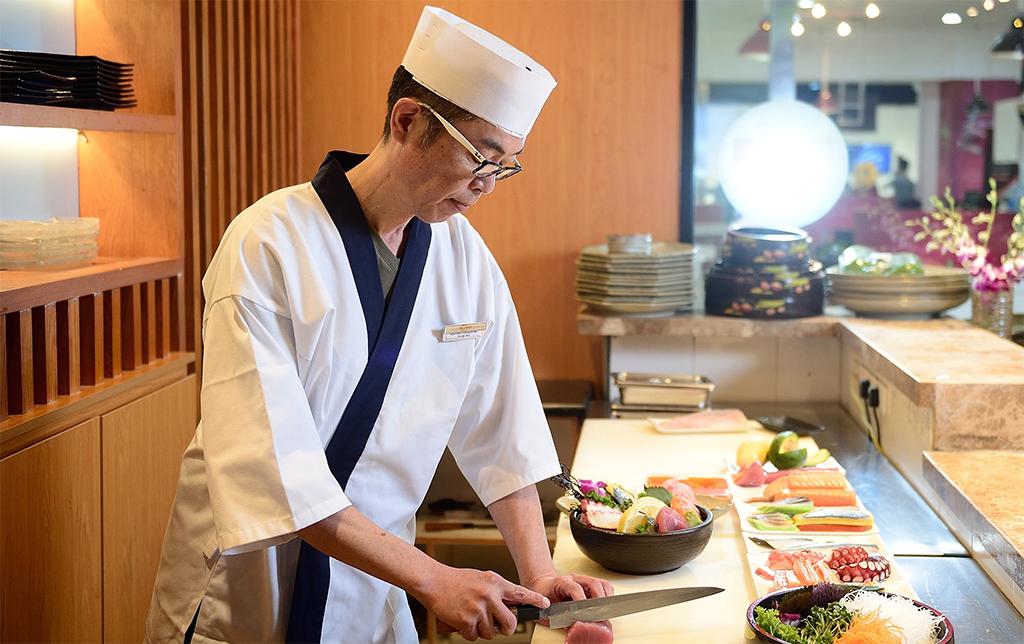 Các kiểu đồng phục bếp nhà hàng của người Nhật Bản - 1