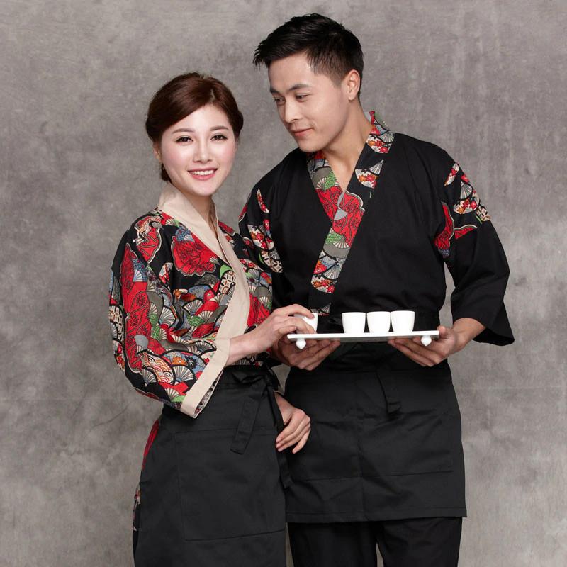Các kiểu đồng phục bếp nhà hàng của người Nhật Bản - 3