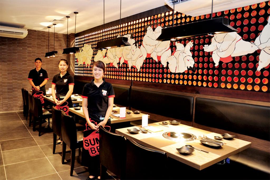 Các kiểu đồng phục bếp nhà hàng của người Nhật Bản - 4