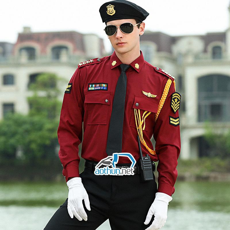 Đồng phục bảo vệ tạo sự tin tưởng và an tâm đối với khách hàng