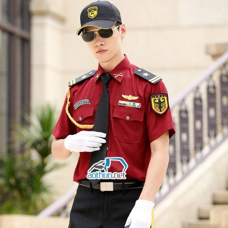 Áo đồng phục bảo vệ