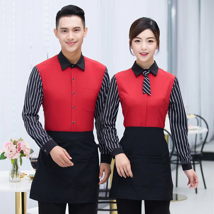 Mẫu đồng phục nhà hàng 1