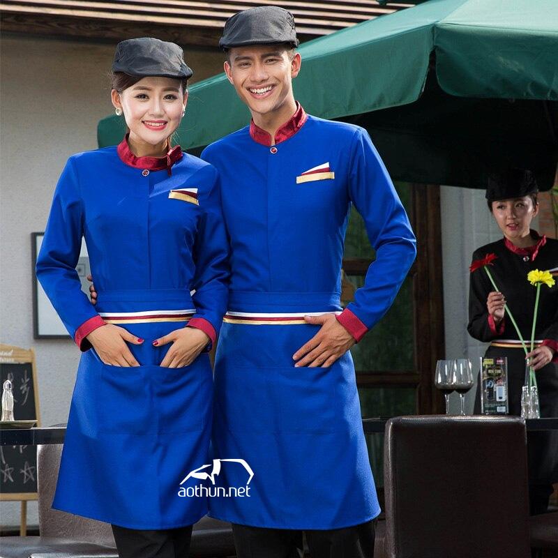 Phân cấp bậc bằng từng loại đồng phục nhà hàng khách sạn