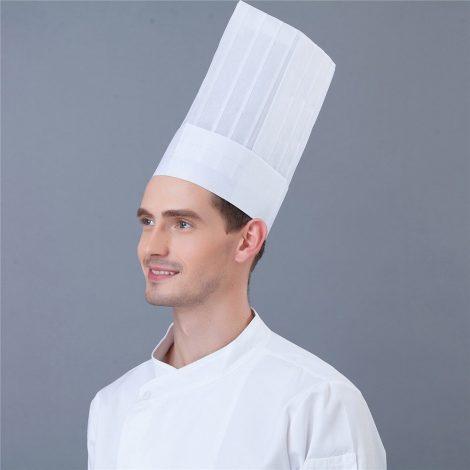 Mũ đầu bếp – Nón đầu bếp nắp cao